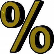 gold-percentage-sign